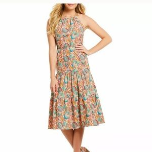 New LIberty Of London by Antonio Melani dress Oliv